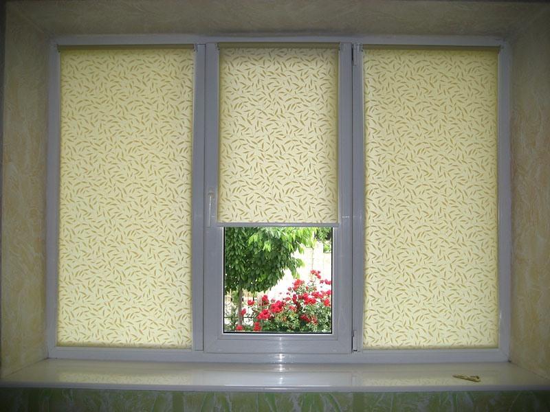 Рулонные шторы - цены от производителя, купить